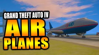 GTA Retro: Why There Are No FLYABLE Airplanes in GTA IV! - GTA 4 Airplane Mystery! (GTA)