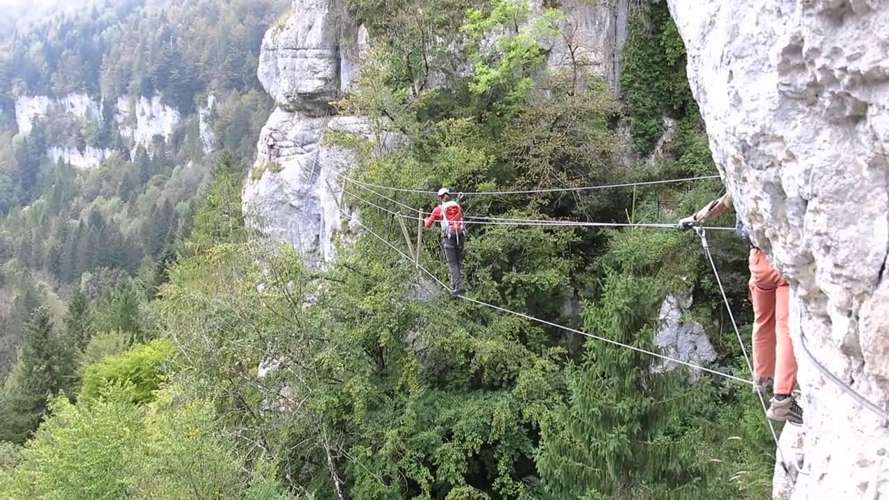 Klettersteig De : Klettersteig les echelles de la mort youtube