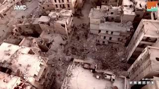 غرفة الأخبارسياسة  لقطات صادمة: حلب.. دمار هائل في مدينة أشباح مهجورة