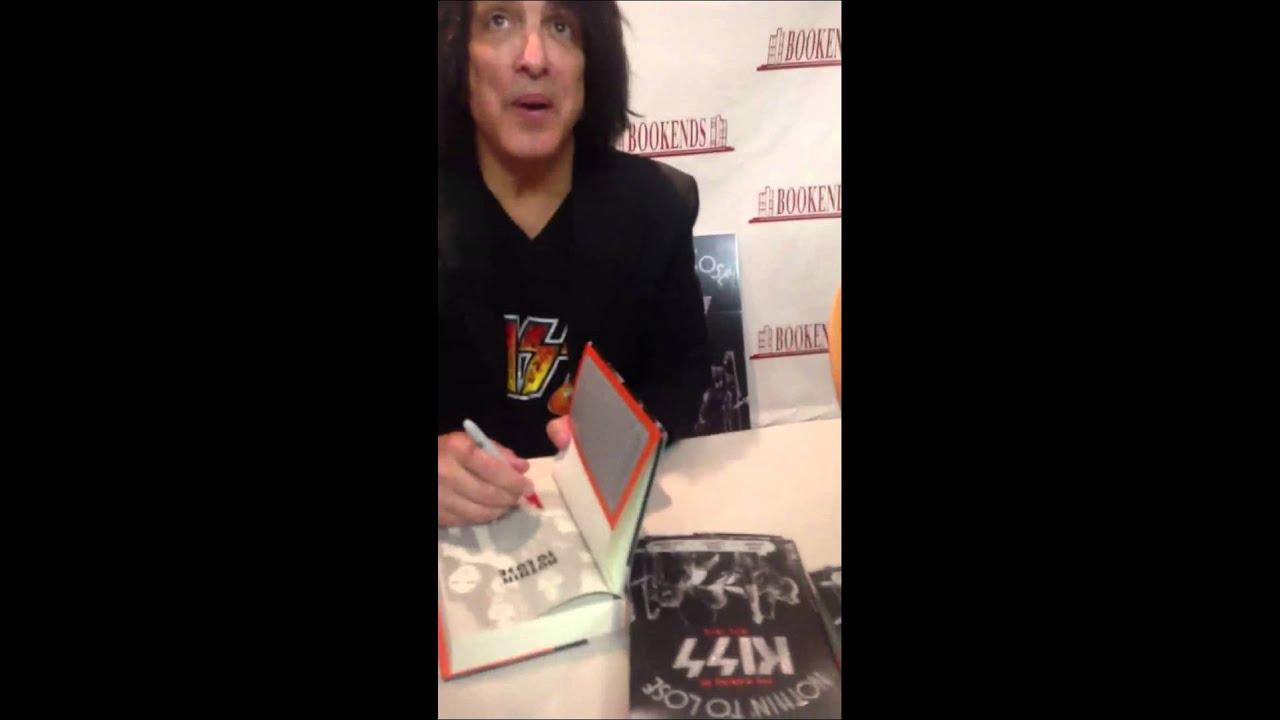 Paul Stanley & Gene Simmons book signing 9/10/13