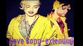 MADONNA & PRINCE-LOVE SONG (Ext mix)