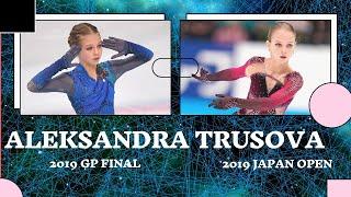 Aleksandra Trusova 2019 Japan Open VS 2019 GP Final