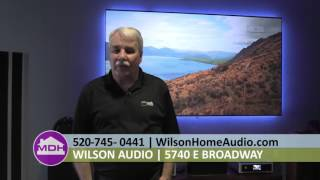 You Can Put a Projector TV in Bright Room or Outside in Tucson, AZ with Paul McKee from Wilson Audio