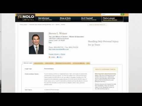 Introduction to Nolo's Lawyer Directory