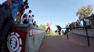 Element skate team, Rumble Down Under element tour Australia