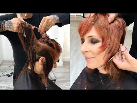Pixie Shag Haircut Tutorial - Layered Bob Haircut For Women