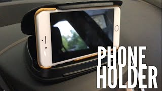 Dashboard Clamshell Cell Phone Holder Mount by Bosynoy Review