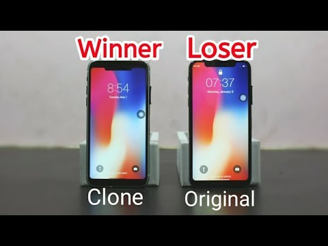 iPhone X Clone is Better Than iPhone X Original With 100% Proof