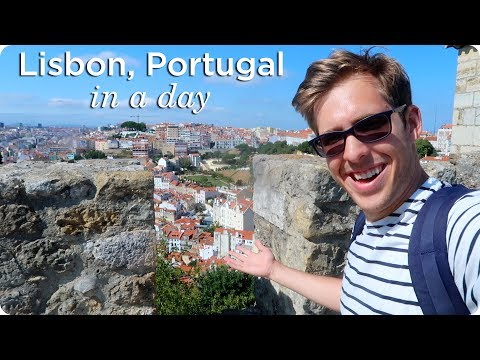 Lisbon Portugal in a Day!