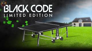 Cornilleau Black Code Table Tennis   Thailand Pool Tables