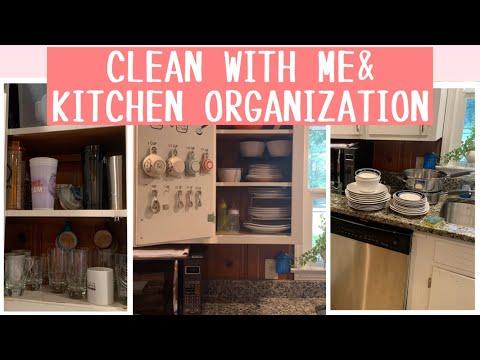 KITCHEN CABINET ORGANIZATION :: CLEAN WITH ME KITCHEN EDITION