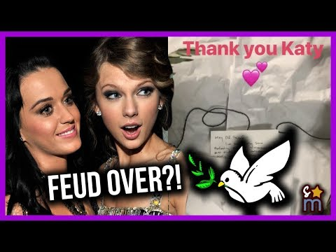 Taylor Swift & Katy Perry FINALLY End Their Feud (With An Olive Branch) 😂
