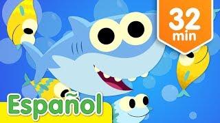 bebé tiburón y más canciones infantiles música para niños