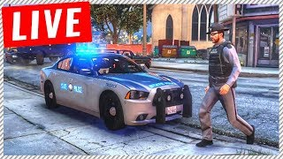 GTA 5 Officer Elanip on Duty! - Police Officer Multiplayer RolePlay Servers (Funny Officer Moments)
