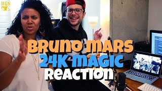 Bruno Mars - 24K Magic Reaction