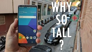 LG G6 and the 18 9 Screen   Why make it so tall?