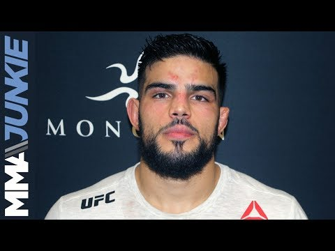 UFC Moncton: Nasrat Haqparast post-fight interview