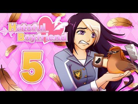 Hatoful Boyfriend w/ Voices - ANGHEL THE ANIME BIRD ~Part 5~ (Visual Novel Indie Game) w/ Kita