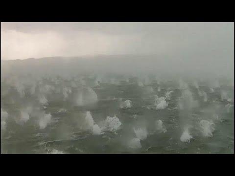 شاهد: بردٌ بحجم كرة المضرب يتساقط بغزارة على مناطق في بافاريا الألمانية…  - 15:54-2019 / 6 / 11