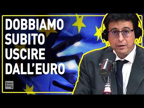 L'EURO È UNA TRAPPOLA. DOBBIAMO USCIRE DALLA MONETA UNICA PRIMA POSSIBILE - Valerio Malvezzi