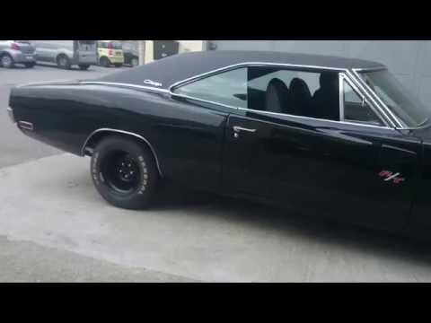 1970 Charger RT 440 exhaust idle