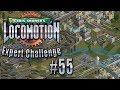 Chris Sawyer's Locomotion: Expert Challenge - Ep. 55: BRAND SPANKING NEW TRAMS
