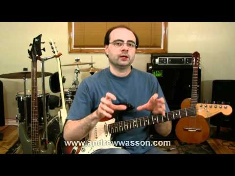 Intermixing Styles, Using Scales, Arpeggio Positions