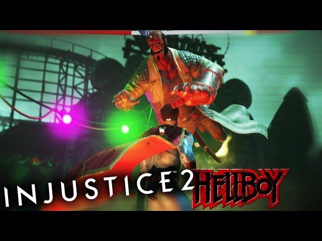 HELLBOY DLC IS HERE.. AND HE GOTTA BIG FIST | Injustice 2 #14 (Hellboy DLC Update)