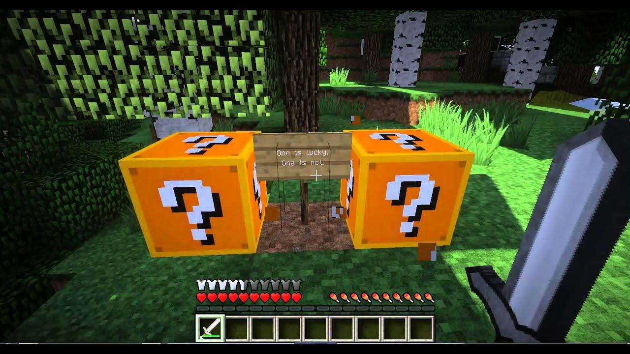 lucky block 1.8 1.7.10 моды для майнкрафт minecraft inside #10