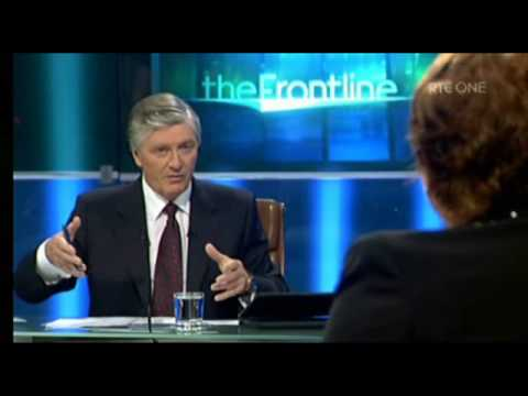 The Frontline: Pat Kenny reacts to 'trophy house' comment