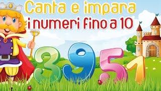 Canta e impara i numeri fino al 10 - Canzoni per bambini @MelaMusicTV