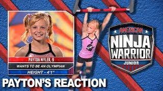 Payton's Reaction to American Ninja Warrior Jr!