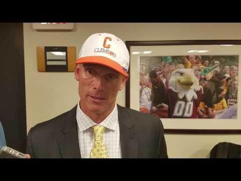 TigerNet.com - Brent Venables post Boston College