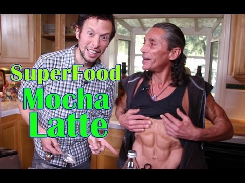 Superfood Mocha Latte with Dr. Robert Cassar: Organic Vegan Drink Recipe