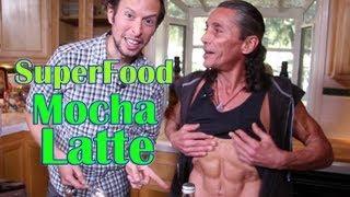 Superfood Mocha Latte with Dr. Robert Cassar: Organic Vegan Drink Recipe