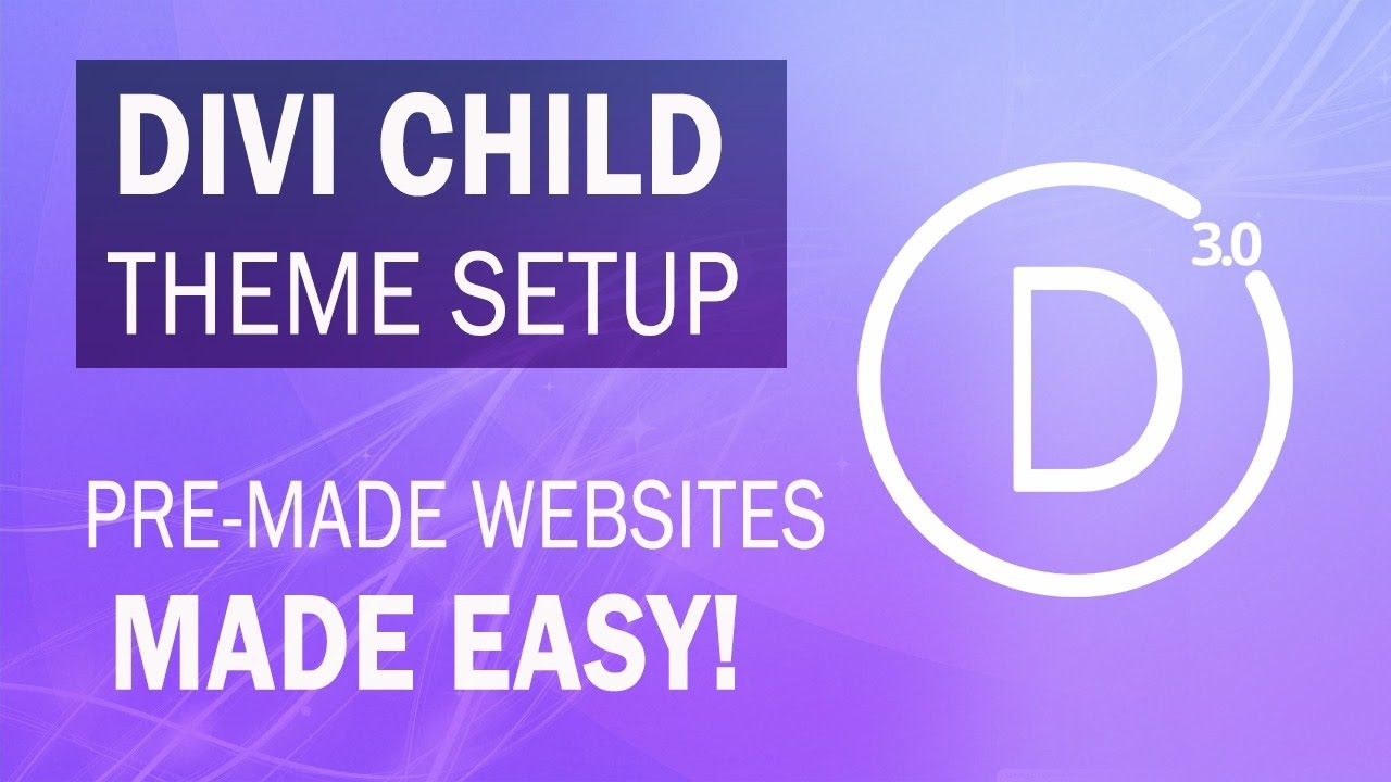 Divi child themes how to install divi 3 0 child themes with wordpress must watch youtube - Divi child theme ...