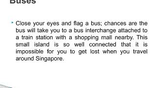 Travel to Singapore and Never Get Lost  - Junglee Trips
