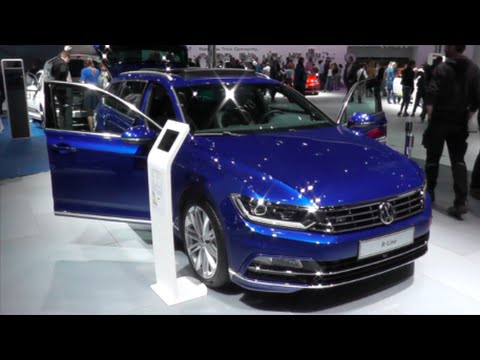 volkswagen passat variant r line 2016 in detail review. Black Bedroom Furniture Sets. Home Design Ideas