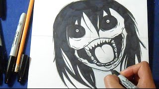 Cómo dibujar a Jeff the Killer  | How to draw Jeff