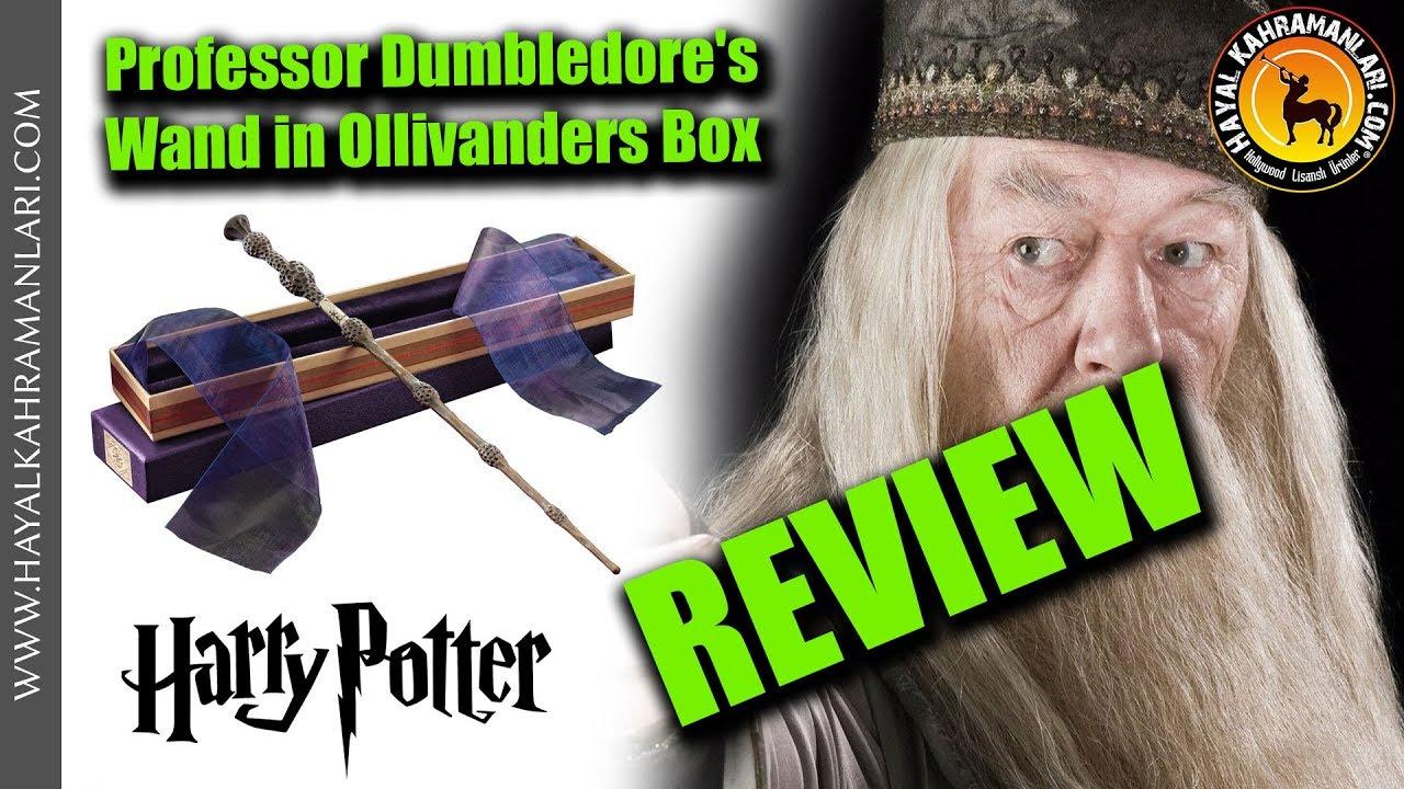 New /& Official In Ollivanders Box Dumbledores Wand Prop Replica Harry Potter