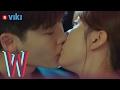 W - EP 5   Lee Jong Suk & Han Hyo Joo's Rooftop Kiss