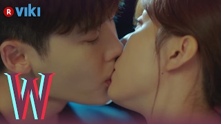 Video W - EP 5 | Lee Jong Suk & Han Hyo Joo's Rooftop Kiss download MP3, 3GP, MP4, WEBM, AVI, FLV April 2018