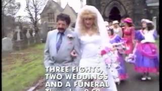 Lonely this Christmas for Albert Steptoe: BBC2 Continuity, Christmas Eve 1994