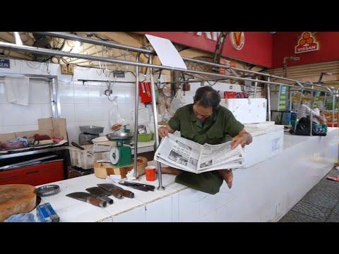 Ben Thanh Market In Saigon And A Secret