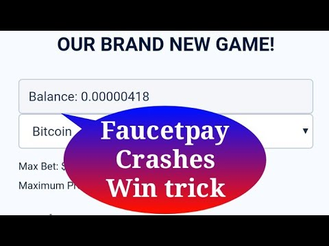 Faucetpay Crashes Win Trick With Very Low Balance