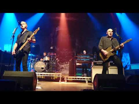 """Stranglers live in Belfast """"Rise of the robots*"""