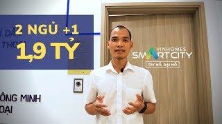 """Vinhomes Smart City Tây Mỗ - Khám phá """"NGÓC NGÁCH"""" căn hộ ĐA NĂNG 2 phòng ngủ + 1"""