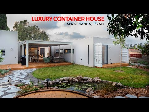 Luxury Container Home in Israel by Hagar and Ramis Attias