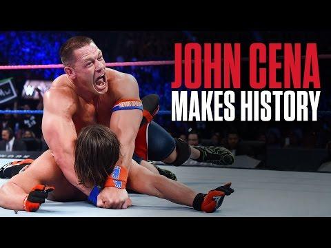 John Cena achieves historic feat at No Mercy