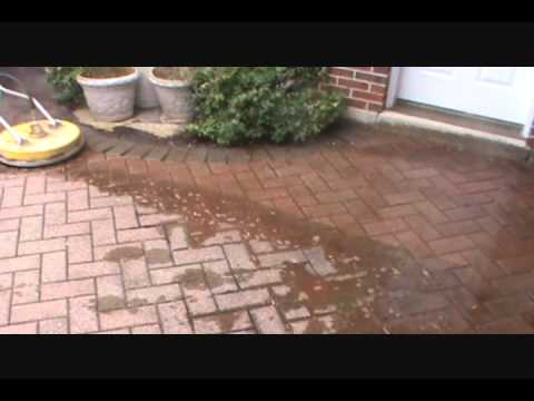 Cleaning A Nasty Brick Paver Patio  Paver Protector   YouTube